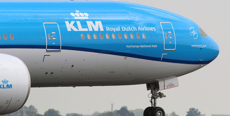 KLM Royal Dutch Airlines Named Kaziranga