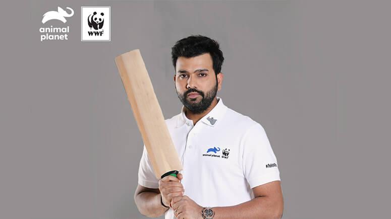 Rohit Sharma Launches Rohit4Rhinos Campaign Towards Rhino
