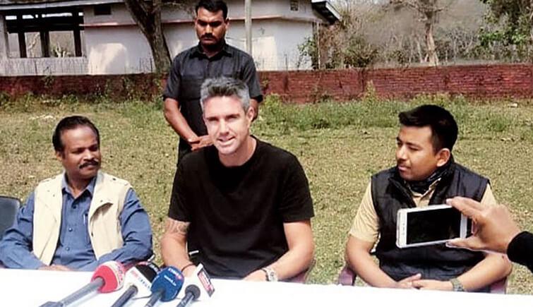 Kevin Pietersen in Kaziranga